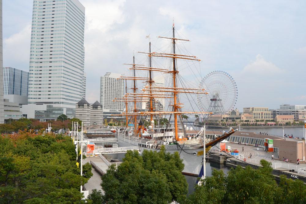 """Корабът """"Нипон Мару"""" в Йокохама"""