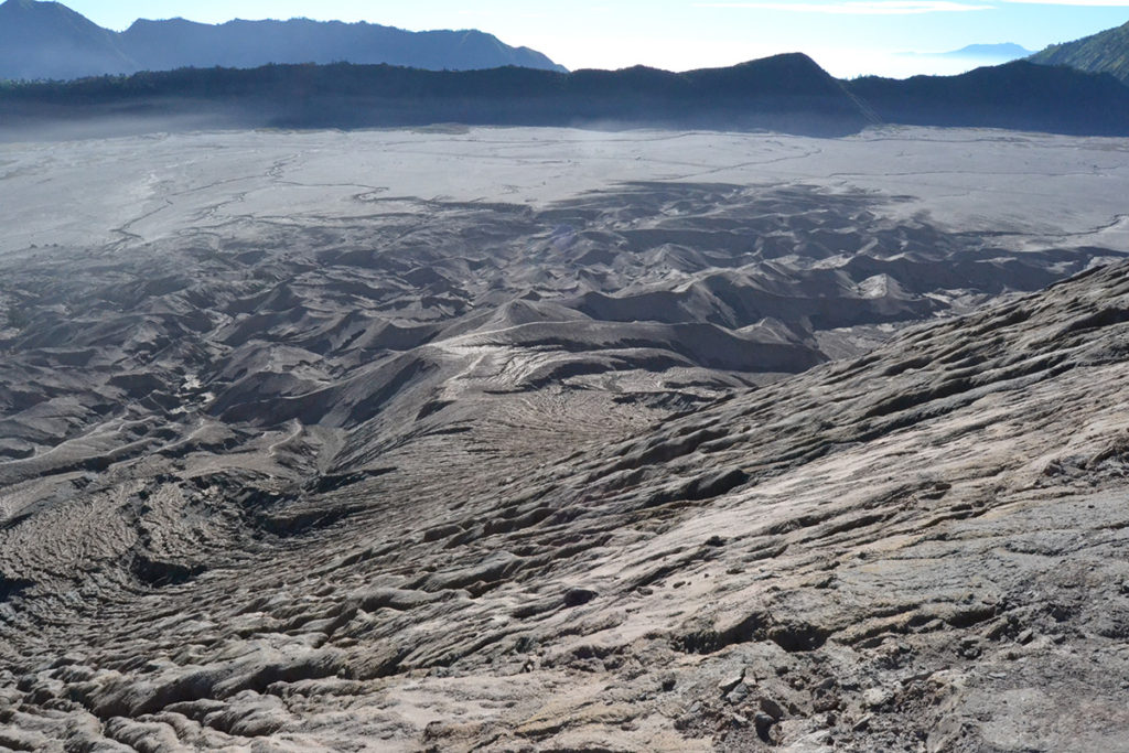The view from Mount Bromo