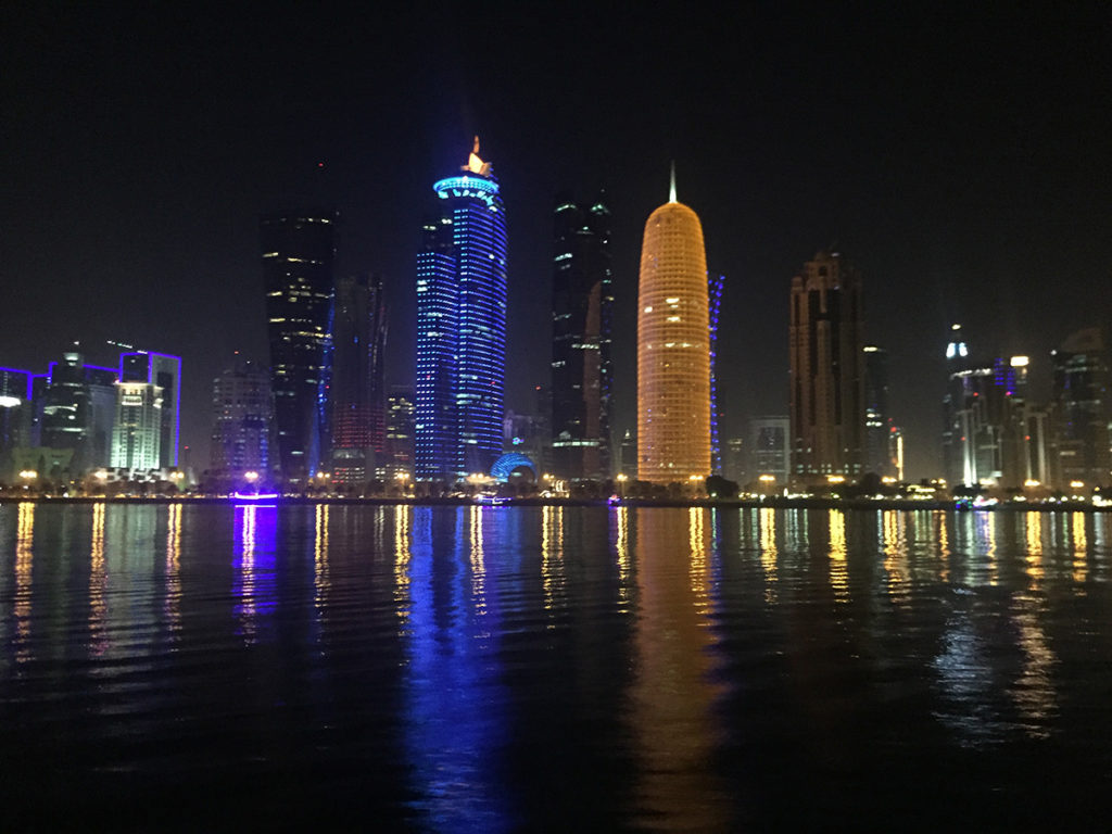 Skyscrapers in Doha