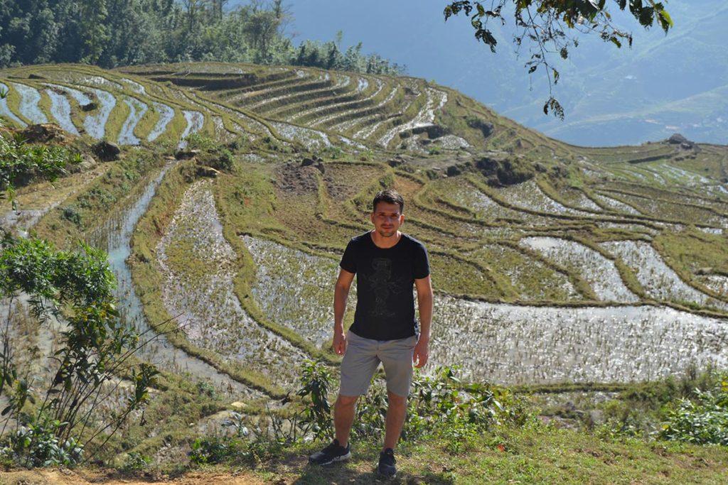 Оризови тераси над Сапа