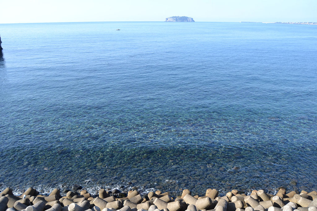 Beomseom Island in the distance