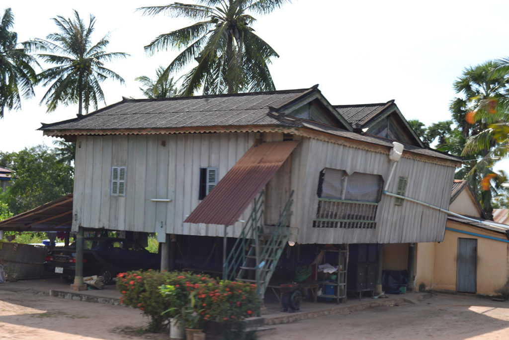 A house in Cambodia