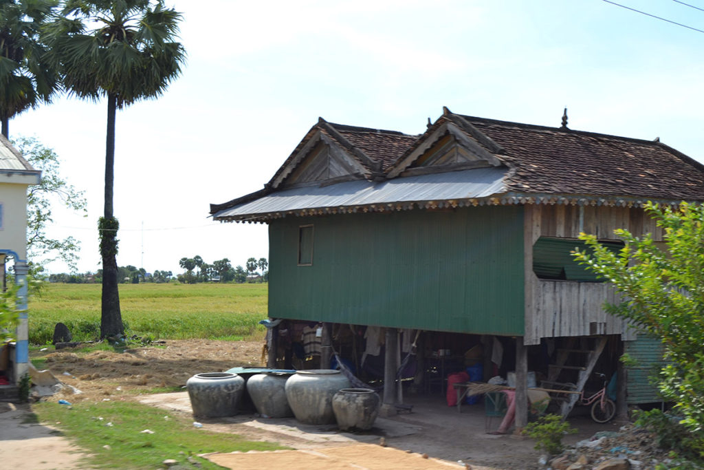 A house somewhere in Cambodia