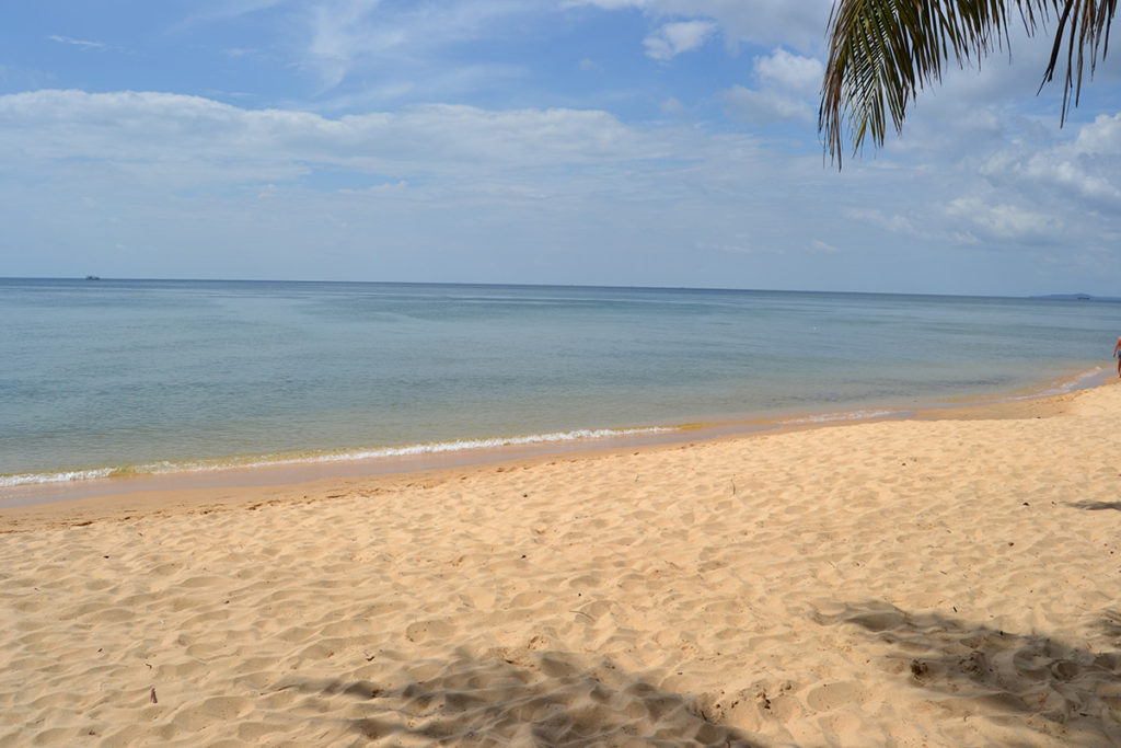 The beach Phu Quoc