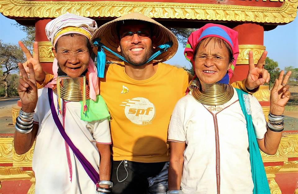 Росен-Андрей в Мианмар