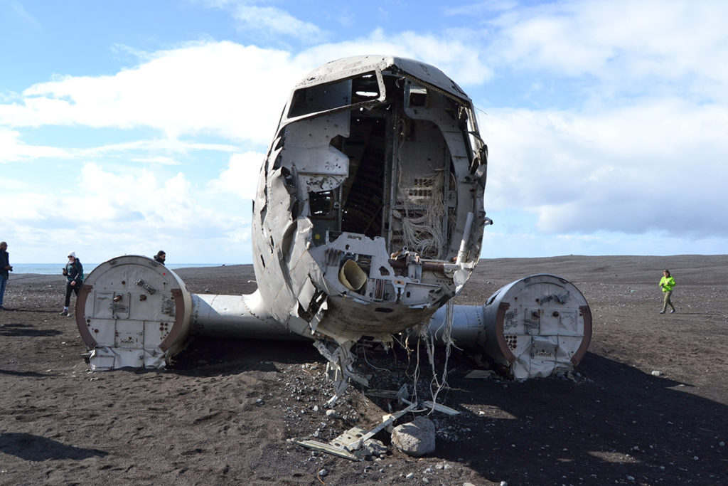 The Sólheimarsandur airplane wreck
