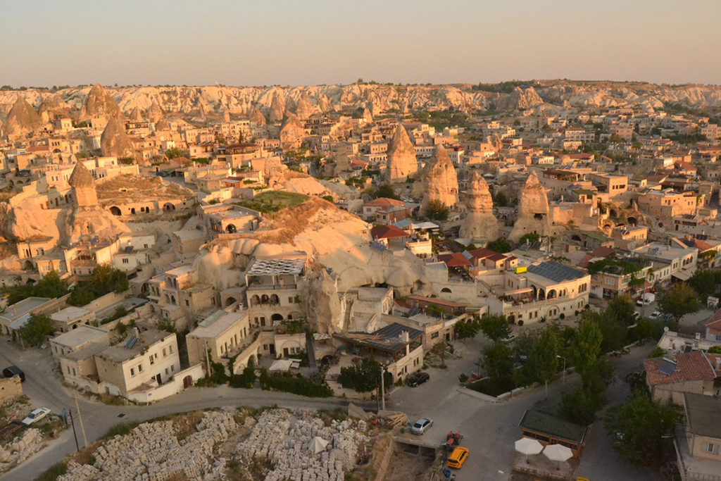 Göreme from above