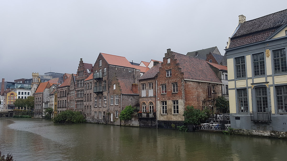 Houses in Ghent