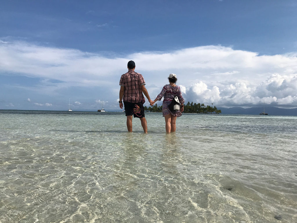Бистра и Наце на островите Сан Блас