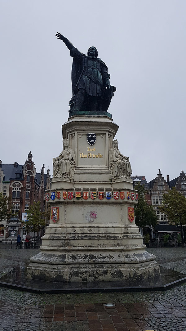 Statue of Jacob van Artevelde in Ghent