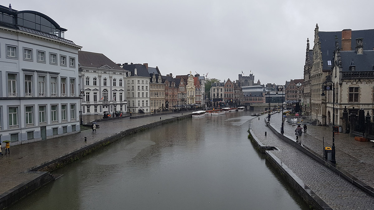 The Leie in Ghent