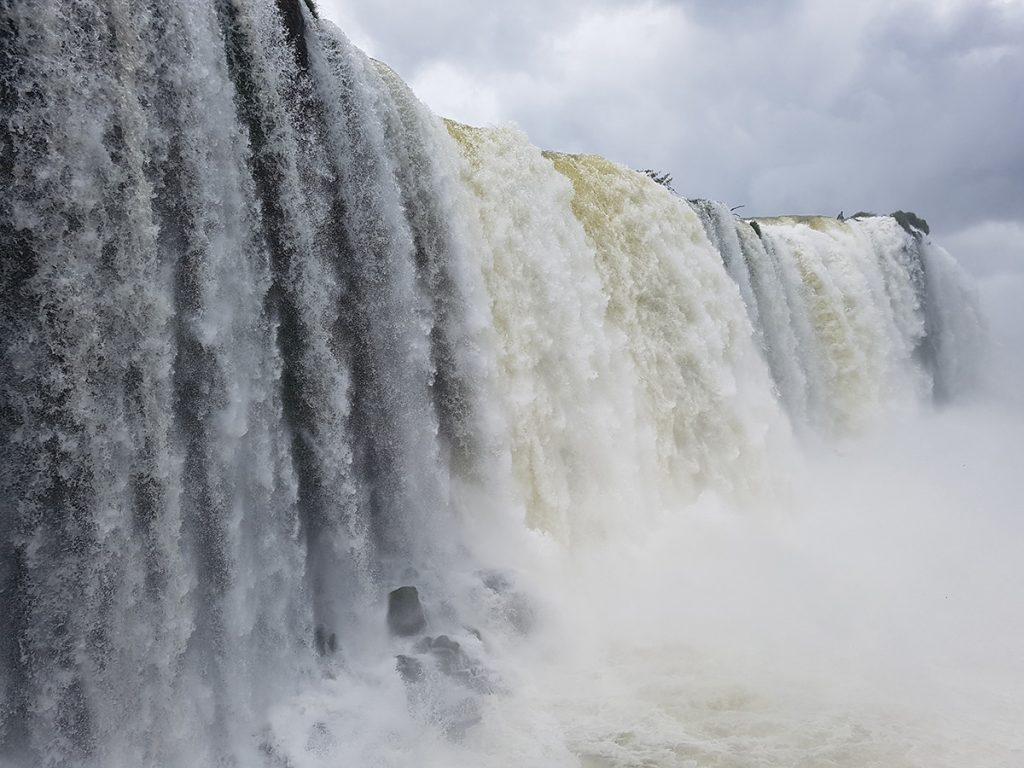 Водопадите Игуасу от бразилска страна