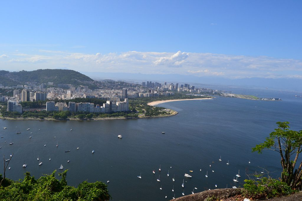 View from Urca Hill
