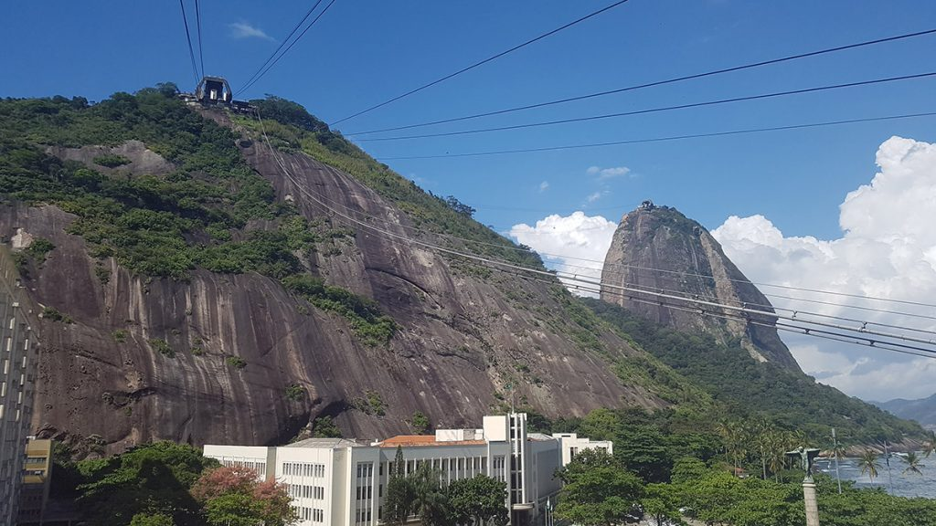 Urca Hill and Sugarloaf Mountain