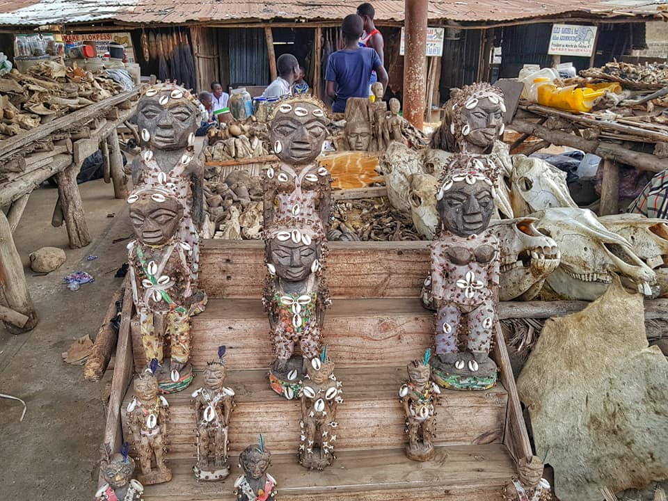 Akodessawa Fetish Market - the world's largest voodoo market, Lome, Togo