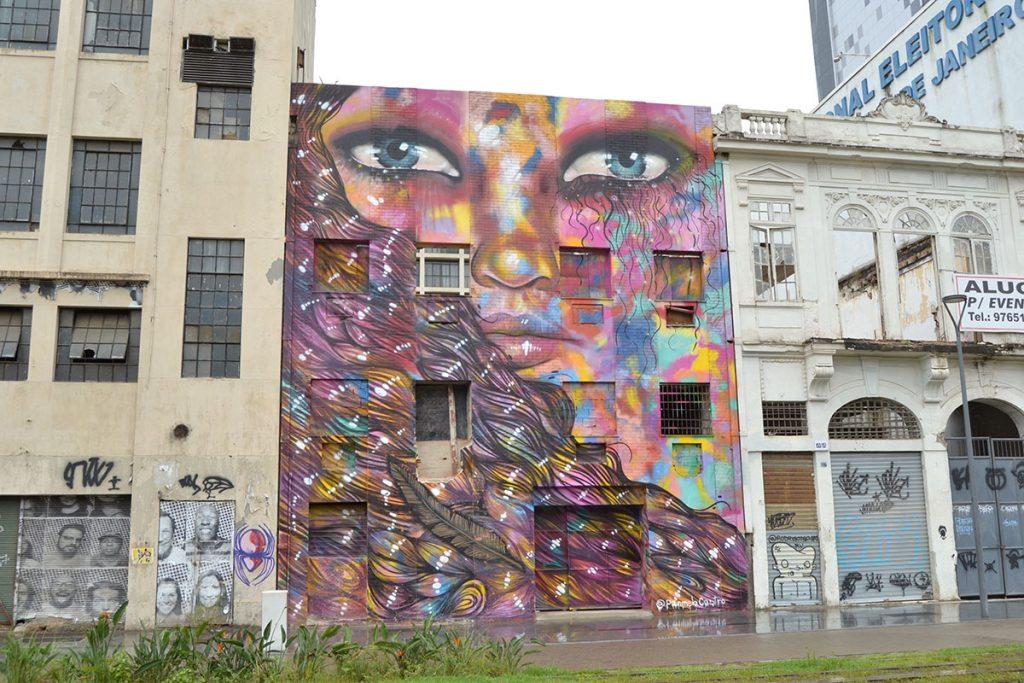 Улично изкуство в Рио де Жанейро