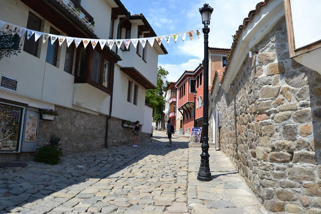 The Old town in Plovdiv
