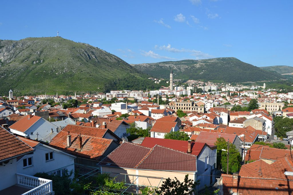 View towards Mostar