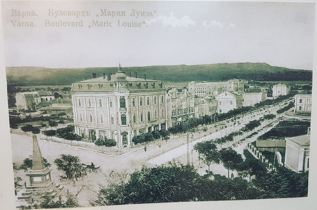 Maria Luiza Boulevard at the beginning of the 20th century