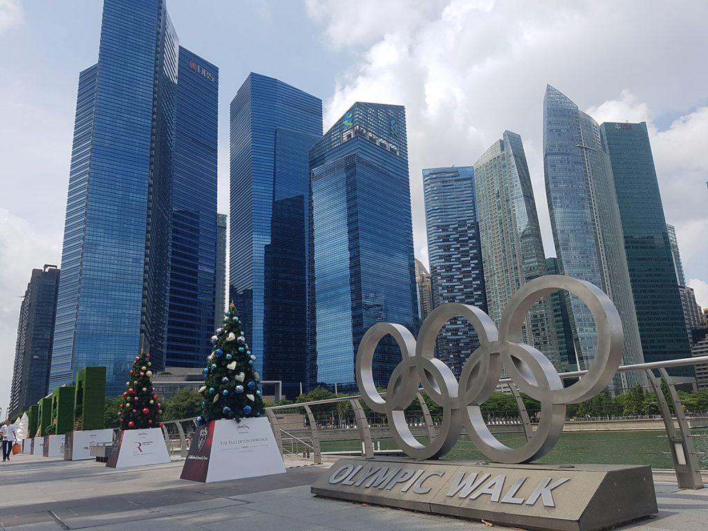 Olympic Walk Bayfront Ave