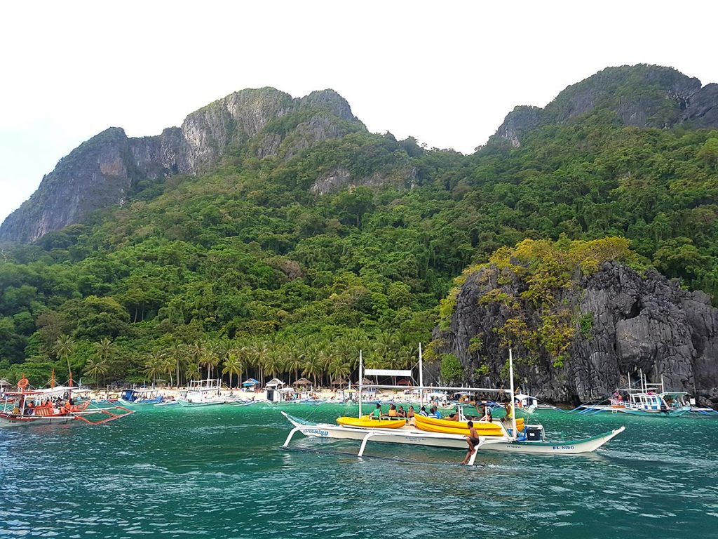 Seven Commandos Beach, El Nido Island Hopping Tour