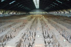 The Terracotta Army in Xian