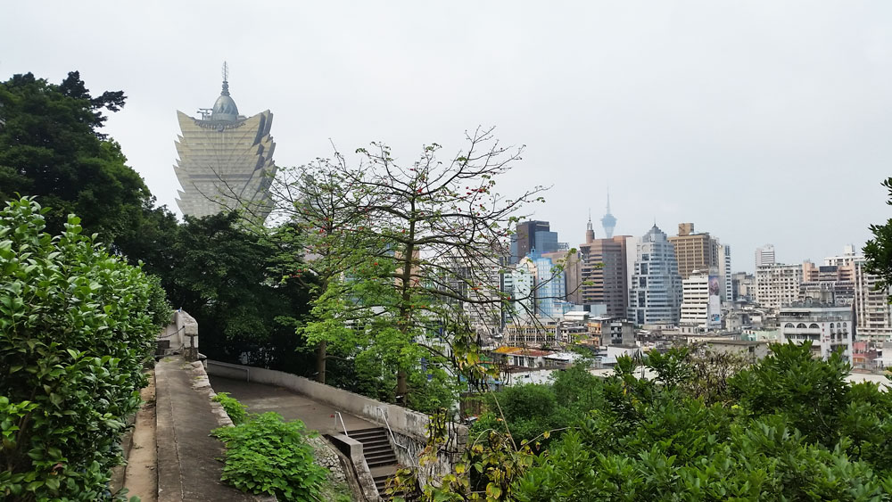 View from Fortaleza do Monte