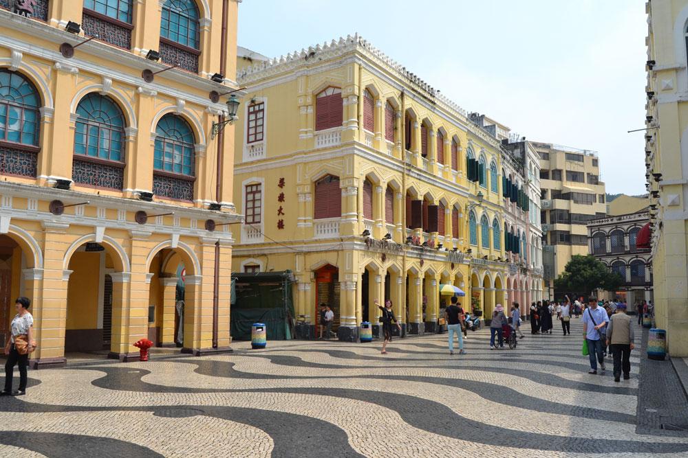 Площад Сенадо в Макао